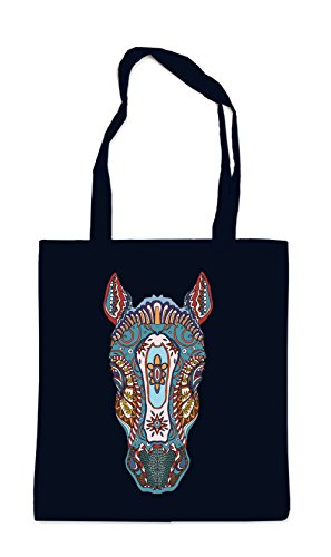 Horse Head Borsa Nero Certified