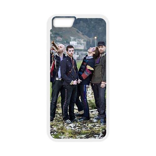 Coldplay coque iPhone 6 4.7 Inch Housse Blanc téléphone portable couverture de cas coque EBDXJKNBO17165