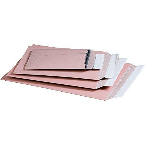 karton-billiger Versandtaschen aus Karton (Vollpappe) A5 - braun - 100Stück