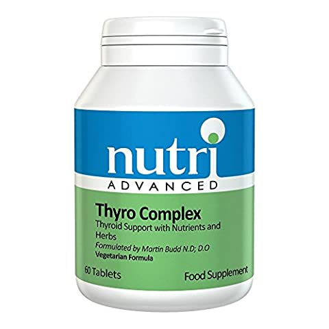 Thyro Complex - 60 Tablets by Nutri Advanced - Multi Nutrient Formula with Vitamins, Minerals & Herbs