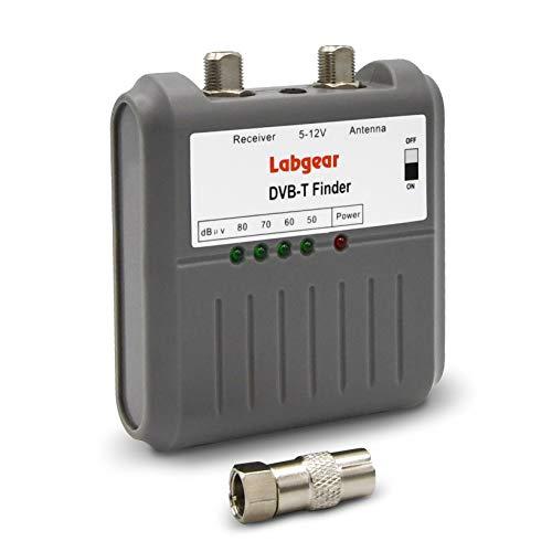 Labgear 27866R Signalstärken-Messgerät für DVB-T, Freeview, HD, TV-Antenne