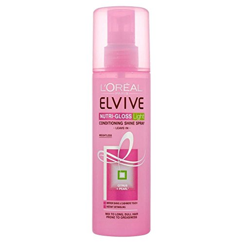 L'Oral Paris Elvive Nutri-Gloss Light Leave In Spray Conditioner (200ml) by L'Oreal Paris