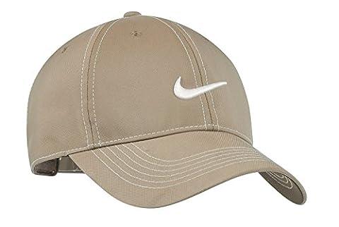 Piqûres contrastées Original Nike Swoosh résistent à l'eau Casquette brodée - Pinenut