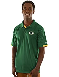 "Green Bay Packers Majestic NFL ""Club Level"" Men's Short Sleeve Polo shirt Chemise"