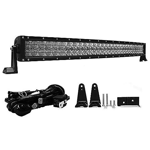 green-l LED gebogen Arbeitsleuchte Bar Combo Beam CREE Chip Nebel Lampe für Offroad Truck SUV UTV ATV