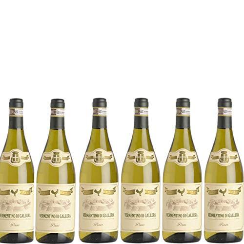 6 bottiglie per 0,75 l -PIRAS - VERMENTINO DI GALLURA DOCG