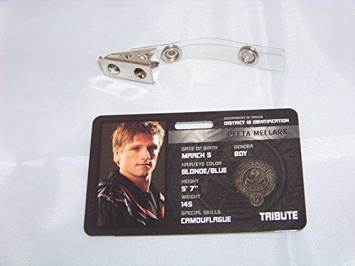Die Tribute von Panem , Hunger Games , Peeta Mellark , ID - Karte , ID Badge