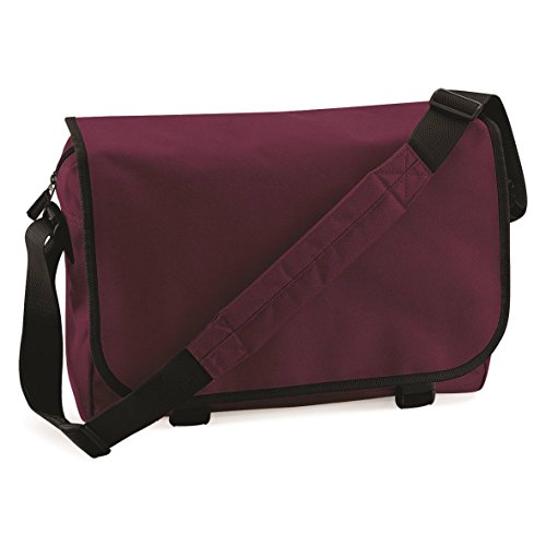 BagBase Messenger bag Chocolate/Sand