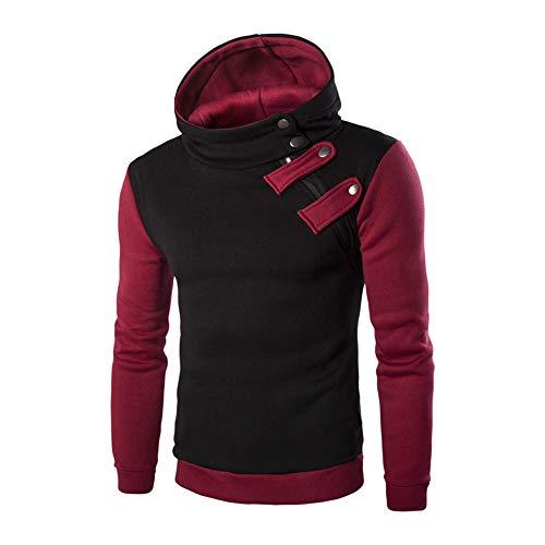 Herren Hoodie Pullover Winter feiXIANG Warme Sweatshirt Outwear Sweater Kapuzenpullover Langarm Männer Oberteile