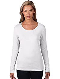 Anvil Damen Lightweight Scoop Neck LangarmShirt / 399