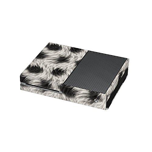 Black And White Fur Print Xbox One