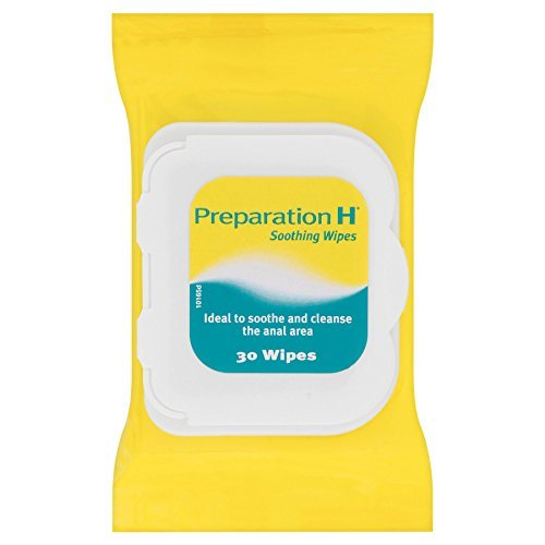 6-x-preparation-h-30-soothing-wipes