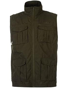 Gelert–ligero chaleco para hombre Chaqueta de Gelert verde Outerwear–Chaleco térmico, Gelert Green, small