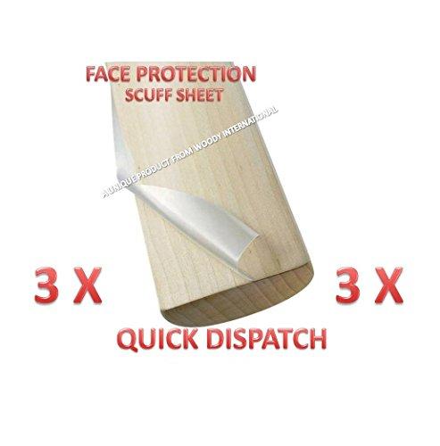 Great Master 3X Champion Cricket Bat Safety Anti Crack Water Proof English Tape Scuff Sheet