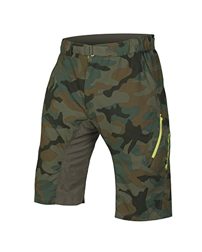 Baggy Mountain Bike Shorts (Endura Hummvee Lite Mountain Bike Baggy Short II, Herren, Camouflage, X-Large)