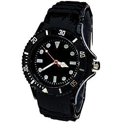 Preisbrecher! Armbanduhr Black