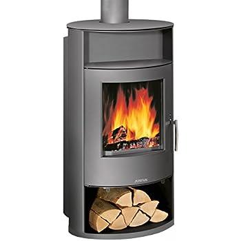 thermia kaminofen m nchen stahl 7 kw dauerbrand automatikregelung k che haushalt. Black Bedroom Furniture Sets. Home Design Ideas