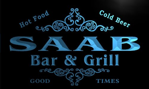 u38818-b-saab-family-name-bar-grill-home-brew-beer-neon-sign-enseigne-lumineuse