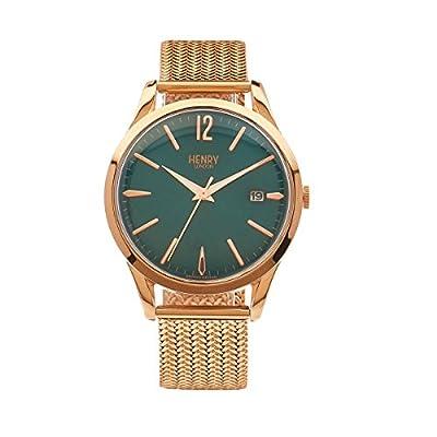Henry de Londres Unisex Reloj de pulsera Stratford analógico de cuarzo Acero inoxidable hl39de m de 0136 de Henry London