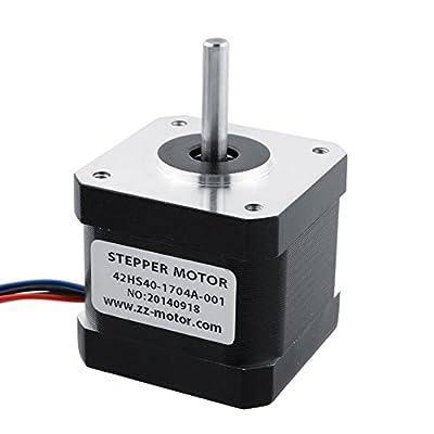 Techvilla NEMA17 Hybrid Stepper Motor Schrittmotor 2 Phasen 4000g.cm 1.8 Degree DC12V fuer 3D Printer Drucker