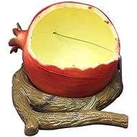 SUFU - Comedero para Fruta de pájaros, hámster, contenedor de Alimentos, Cuenco para pájaros, Accesorios para Jaula