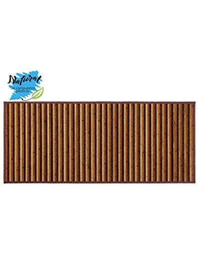 Alfombra de Bambú de colores Marrones