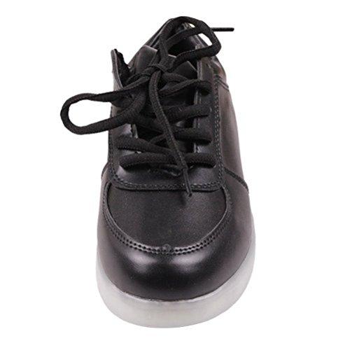 junglest® Led Sportschuhe Farbe Unisex kleines 7 Handtuch C26 Schuhe Sneaker Sport present erwa Turnschuhe Usb Für Leuchtend Aufladen Exqg0x