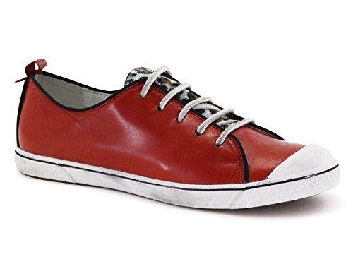 Josef Seibel - Lilo 17, Scarpe da ginnastica Donna Rosso (Rot)