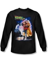 Back To The Future II - Retour vers le Futur II - affiche shirt à manches longues pour homme En Noir