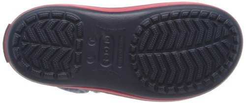 Crocs, Winter Puff Boot K, Stivaletti, Unisex - bambino Blu (Navy/Red)