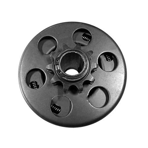 """MachinYeseed Kart-Kupplung 10 Zähne mit 40/41/420 Ketten-Fliehkraftkupplung 3/4""""Bohrung (Farbe: schwarz)"""