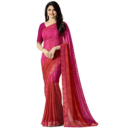 Tagline Women's Clothing Saree Collection in Multi-Coloured Georgette For Women Party Wear,Wedding With Blouse Piece