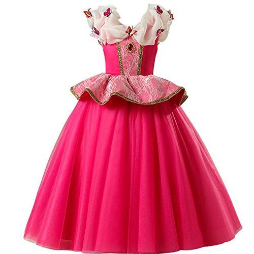 Kleinkind Aurora Kostüm Disney - C&NN Kleinkind Kinder Prinzessin Kleid Halloween Cosplay Kostüm Mädchen Ostern Kleider Party Kleider,Aurora,110cm