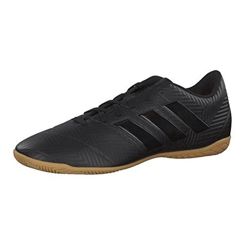 adidas Herren NEMEZIZ Tango 18.4 In Futsalschuhe, Schwarz Negbás/Ftwbla 000, 43 1/3 EU
