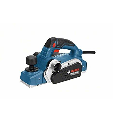 Bosch Professional Handhobel GHO 26-82 D, Parallelanschlag, Sechskantstiftschlüssel SW 2,5, Stoffstaubbeutel, Koffer, 1 Stück, 06015A4300