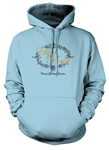 BathroomWall T-shirts PYGMALION My FAIR Lady Inspired, Hoodie, Large, Light Blue - Bekleidung My Fair Lady