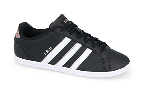 Schuhe Frauen Schwarze Adidas (adidas Damen Vs Coneo QT Fitnessschuhe, Schwarz (Core Black/Ftwr Wht/Vapour Grey Met.f16), 40 EU)