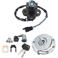 SGerste - Cilindro de encendido para cerradura de asiento Honda VFR400 NC30