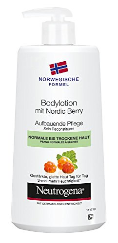 Neutrogena Norwegische Formel Bodylotion mit Nordic Berry, 1 x 400ml