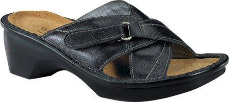Naot Ibiza Damen Sommer Schuhe Pantoletten Schwarz