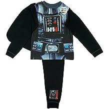 Oficial de Star Wars Darth Vader para niños disfraz pijama con capa Tamaños de 2a 8años