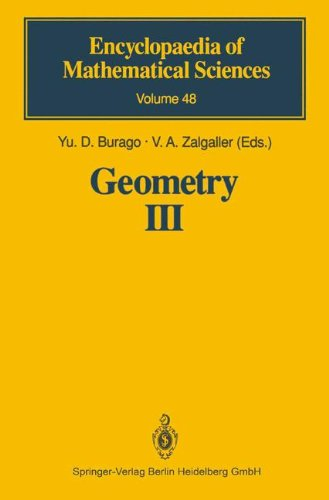 Geometry III: Theory of Surfaces (Encyclopaedia of Mathematical Sciences)