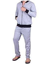 Vivid Bharti Men's Fleece Tracksuit