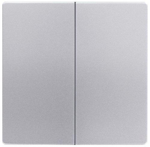 Peha 00309911 Dialog Wippe für 500-er Grundelement, Serienschalter/-Taster, alu