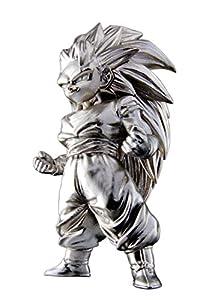 Bandai- Super Saiyan 3 Son Goku, Mini Figura de 7 cm, Dragon Ball Z Series 2 Absolute Chogokin (BDIDB112204)