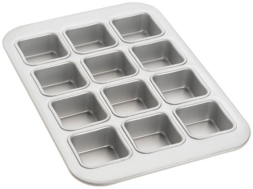 Fat Daddio's 12-Cup Square Muffin Pan by Fat Daddios Fat Daddios Square Pan