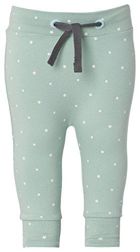 Noppies Unisex Baby Hose U Pants jrsy comfort Bo, Sternchen, Gr. 62 (Herstellergröße: 62), Grün (Grey Mint C175)