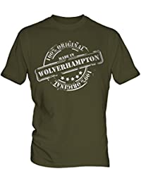 Made In Wolverhampton - Mens T-Shirt T Shirt Tee Top