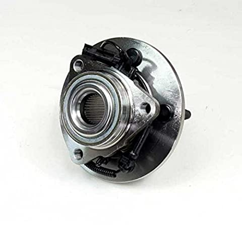 4x ABS Hub–Front, Dodge Ram 1500, 2009–20122WD/4WD & D