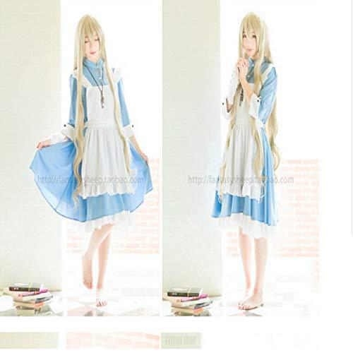 Sakura Anime Kostüm - Butterfly BB Anime um Yang Yan Sakura Jasmin Magd Kostüm Cosplay Kostüm Kleidung Kellnerin Magd,XL